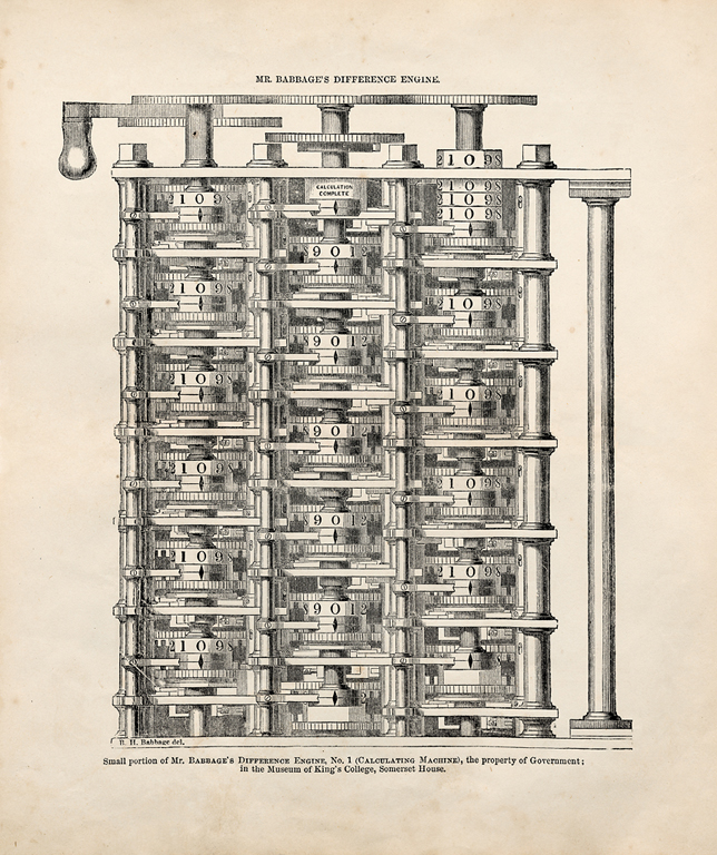 Charles Babbage_s Difference Engine No. 2.