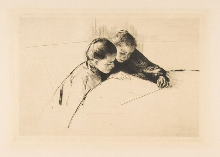 The Map (Mary Cassatt)