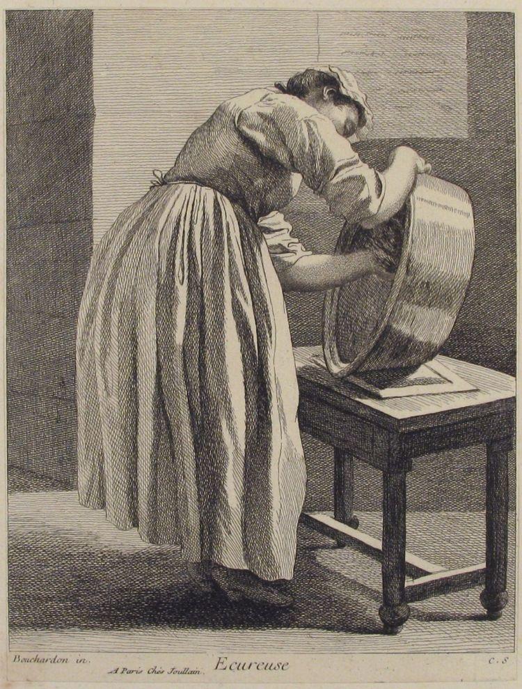 Scullery Maid (Anne Claude Philippe de Tubières)