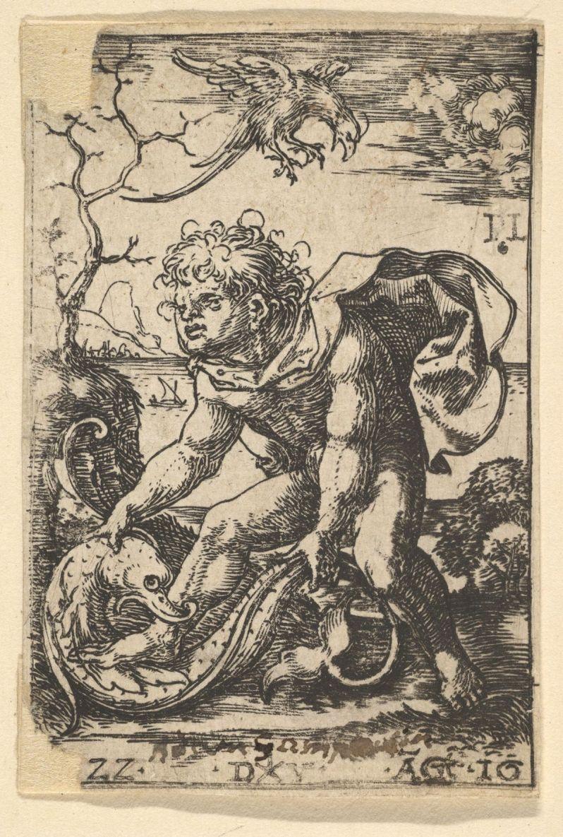 Man With a Fish (Dirck Vellert)