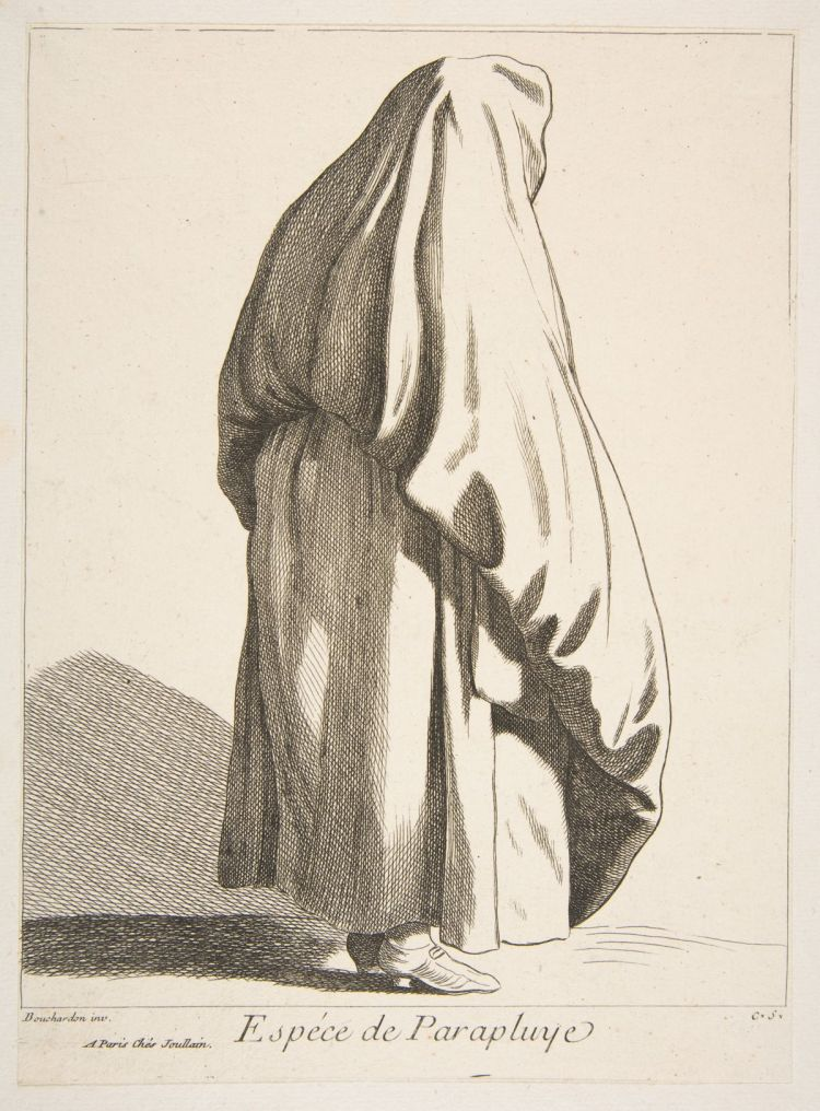 A Sort of Umbrella (Anne Claude Philippe de Tubières, comte de Caylus)