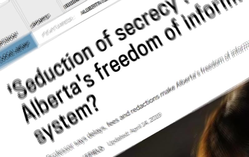 Alberta FOI article