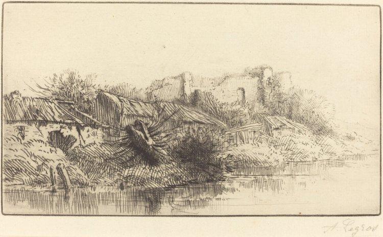 Alphonse_Legros Abandoned_Village
