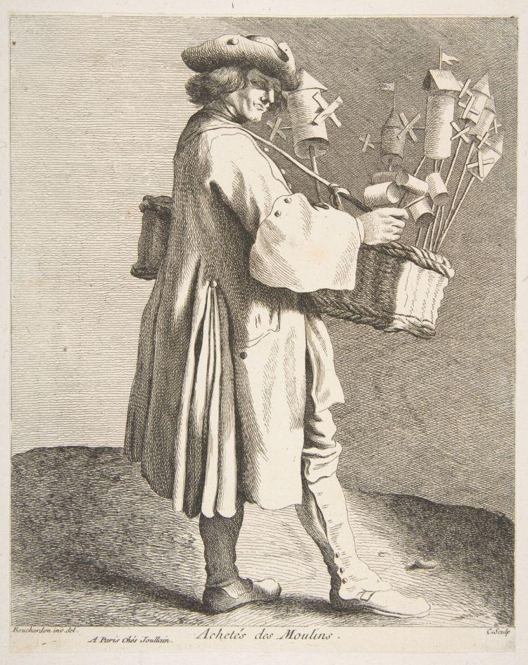Whirligig Peddler (Anne Claude Philippe de Tubières)
